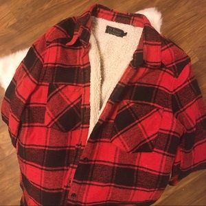 Tops - Red Lumberjack Fleece